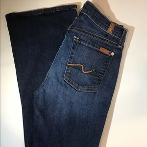 7 For All Mankind Bootcut Jeans. Women's Size 27.